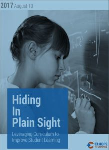 Hiding in Plain Sight: Leveraging Curriculum to Improve Student Learning